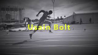 Usain Bolt Warming up for Speed