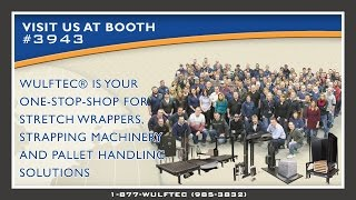Wulftec® - Your One Stop Shop -- ProMat 2015
