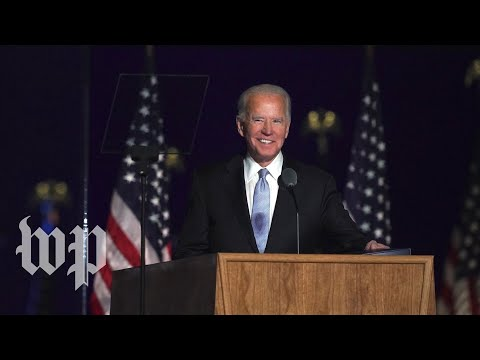 President-elect Joe Biden's full acceptance speech