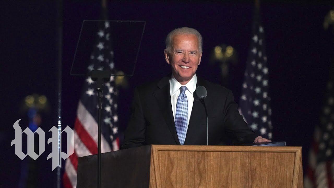 President-elect Joe Biden's full acceptance speech