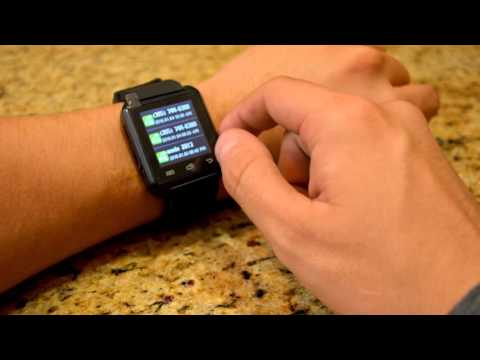 Uwatch U8 Smartwatch for Android Test and How to setup