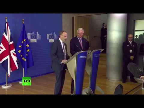 LIVE: Dominic Raab mets Barnier for first time since becoming Brexit Sect