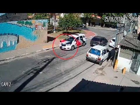 Menino é atropelado por viatura da PM em Guarulhos