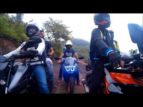 Ride through mountain & jungle | mini ladakh of Indore | off-road | KTM | Dominar