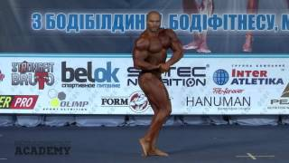 Бабич Ярослав. Бодибилдинг свыше 90 кг (финал) - произвольная программа. Кубок Киева 2016