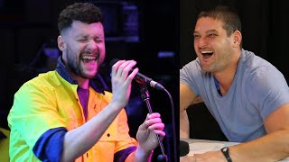 Calum Scott Surprises Fev & Sings In Disguise! I Fifi, Fev & Byron