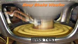 Sony Shake Woofer - Bass test woofer 🔊