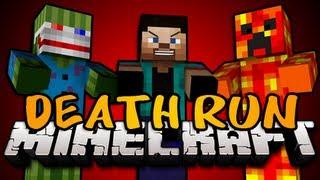BRAND NEW Minecraft: DEATH RUN MINIGAME! w/Bashur, Preston, and Jordan!