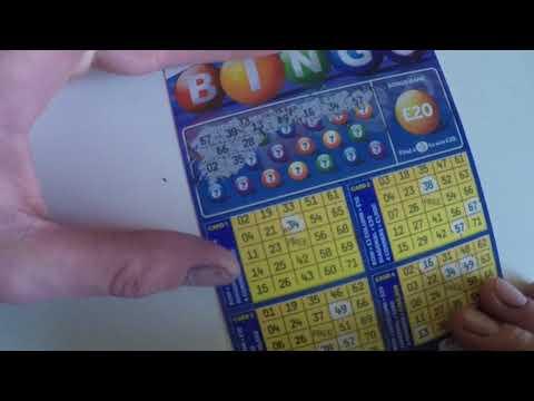 bingo scratch card will it be a winner?