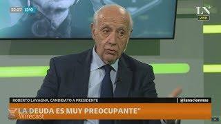 """¿Qué medidas concretas tomaría Roberto Lavagna si es el candidato """"anti grieta""""?"""
