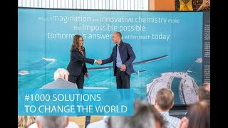 Solvay and Solar Impulse Foundation: #1000 solutions to change the world