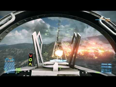 Battlefield 3 Online Gameplay - JackFrags - #14 - Caspian Border - Jets, Assault, C4