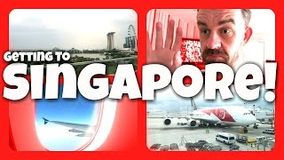 Getting to SINGAPORE! | Matt Harrop