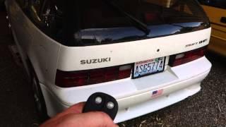 Suzuki Swift Gti 1989 Bulldog Rs82 Remote Starter 7-12-15