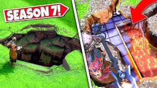 *NEW* EARTHQUAKE SINKHOLE *FOUND* CONFIRMING NEW SEASON 8 UNDERGROUND LOCATION! SEASON 7 UPDATE!: BR