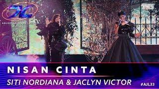 Nisan Cinta - Siti Nordiana & Jaclyn Victor | #AJL33