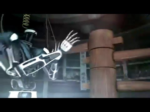 Wing Chun Robot VS Wooden Dummy AMAZING !!!