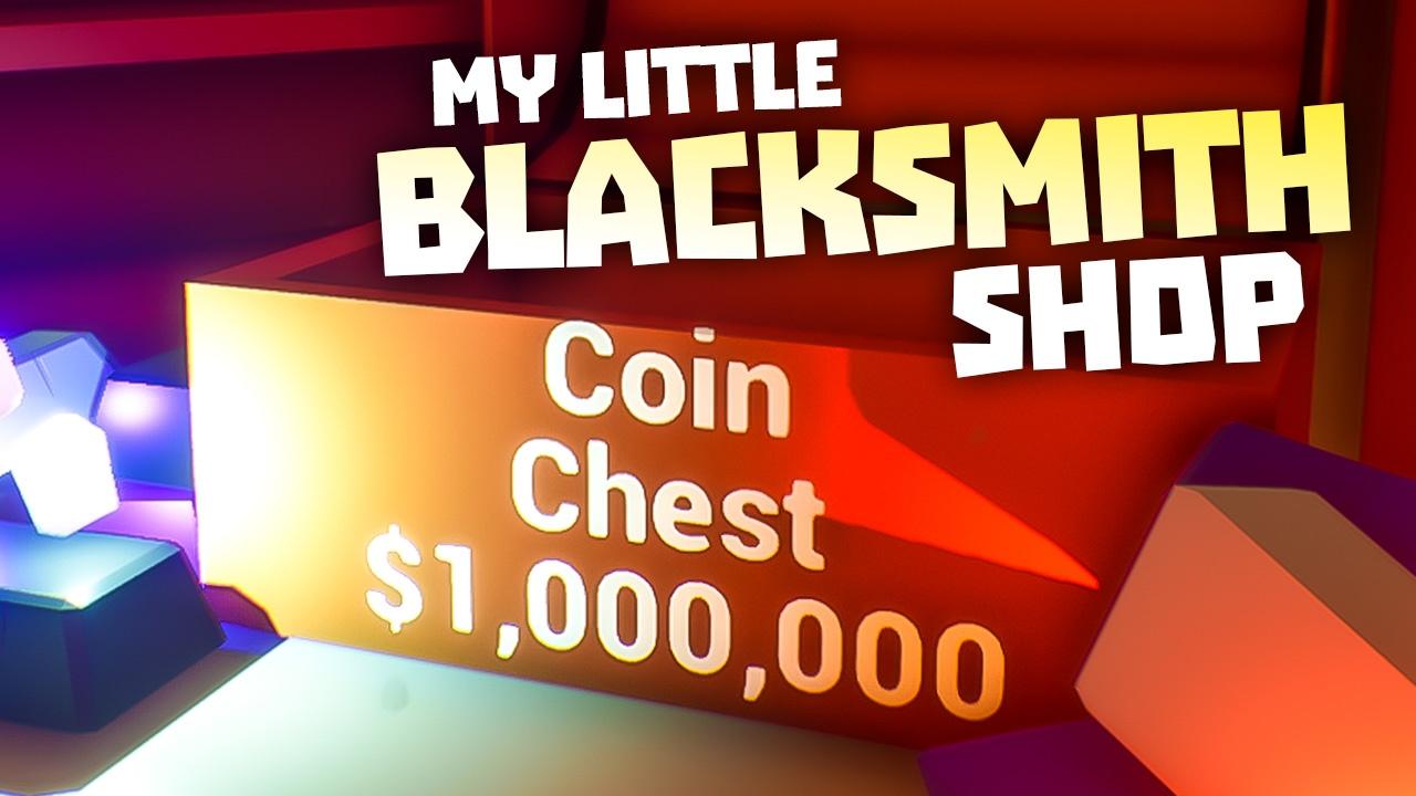 Little Blacksmith Shop Cheat - Rare Metal Weapons, Adamantine, Titanium -  Cheat My Blacksmith Shop