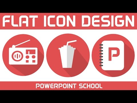 PowerPoint Flat Icons Making Speedart Tutorial