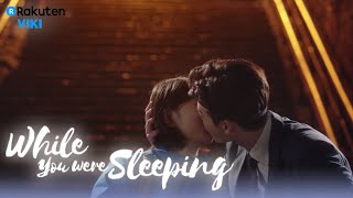 Video While You Were Sleeping - EP13 | Stopping Suzy With A Kiss [Eng Sub] download MP3, 3GP, MP4, WEBM, AVI, FLV Maret 2018