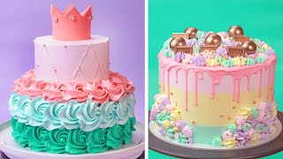 Most Satisfying Cake Decorating Ideas For You  So Yummy Cake Decorating Recipes  How To Cake