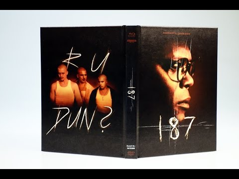 Unboxing: 187 – Eine tödliche Zahl ( limited Mediabook Blu-ray, DVD, 4K UHD-Blu-ray)