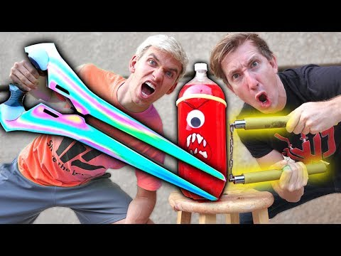 NINJA SPY GADGETS VS SODA!!