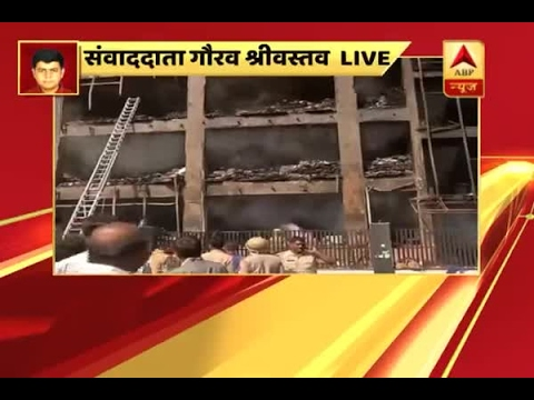 Noida: 6 feared dead as fire breaks out at an electronics factory in Sector 11