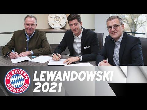 Robert Lewandowski Extends Contract To 2021