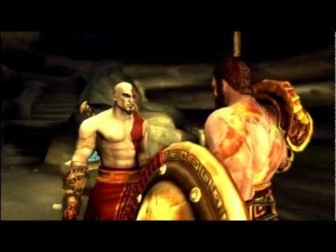 God of War Ghost of Sparta Kratos vs Deimos vs Thanatos HD