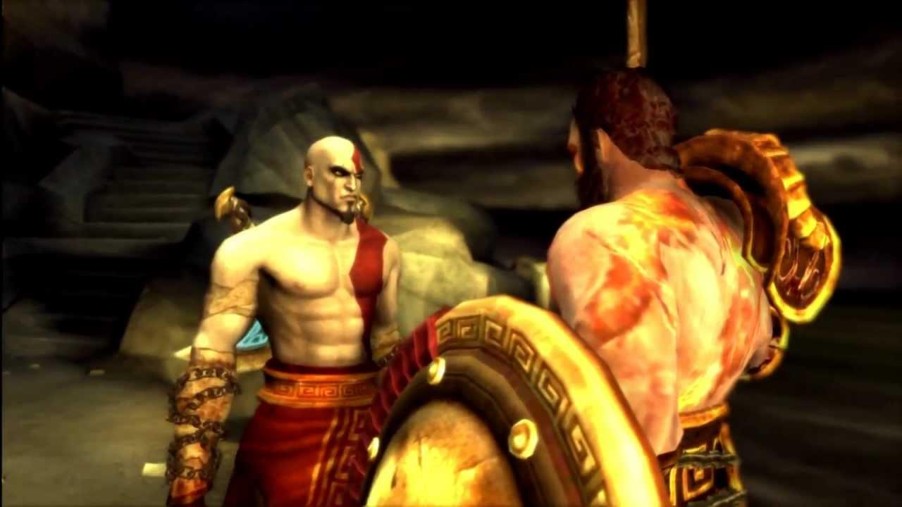 Kratos Brother Deimos God of War Ghos...