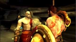 God of War Ghost of Sparta Kratos vs Deimos vs Thanatos HD