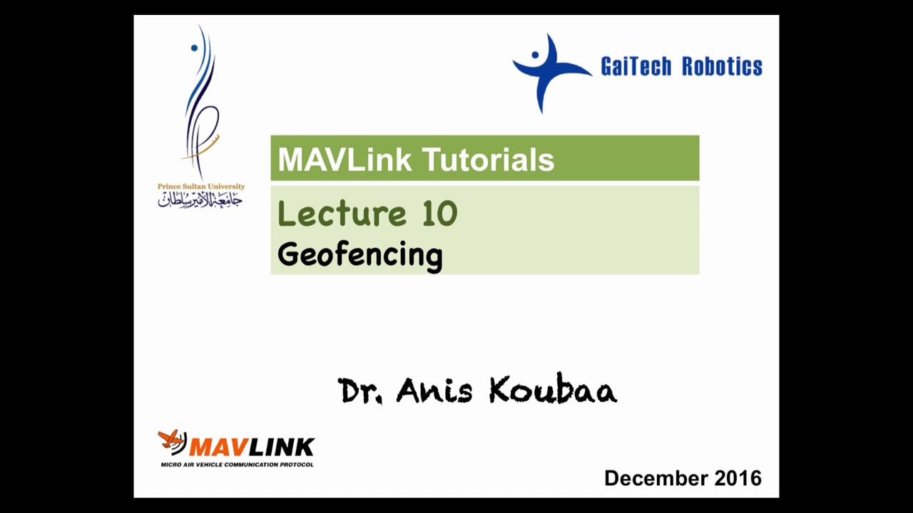 MAVLink Tutorials - COINS Research Group