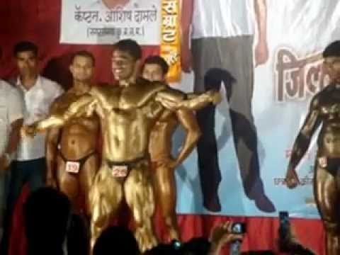 Dancing Pose by Indian Bodybuilder