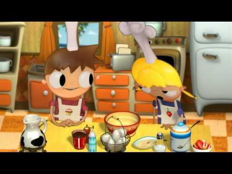 Telmo Y Tula Cocinan Crepes Dibujos Para Niños Youtube