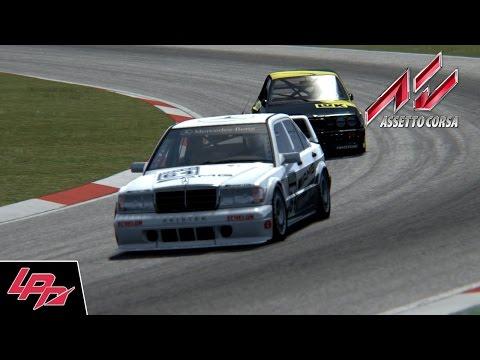 ASSETTO CORSA - DTM Rennen / Mercedes 190E Evo II @ Nürburgring GP (FullHD) / Lets Play
