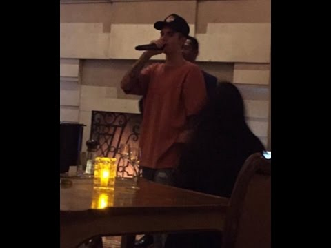 Justin Bieber Serenades Selena Gomez with 'My Girl' in Hotel Bar