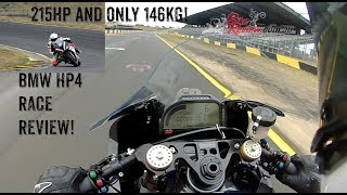 BMW HP4 Race Review 215hp 146kg is Crazy