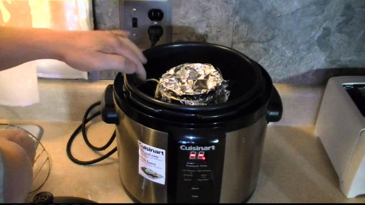 Make Bread in a Pressure Cooker - YouTube