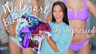trying Walmart bathing suits *150 dollar try on haul*