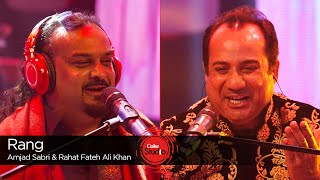 Download Rang, Rahat Fateh Ali Khan & Amjad Sabri, Season Finale, Coke Studio Season 9 MP3 song and Music Video