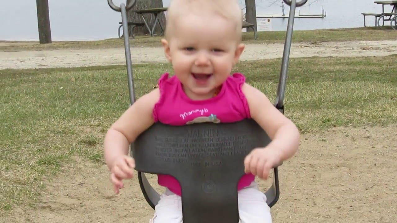 Danger on swinging a baby hot