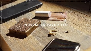 November Favorites 2017 | Gemary