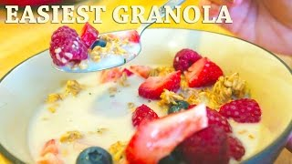 The Easiest Granola - Forks Over Knives Recipe