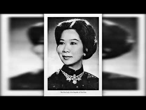 Vài hình ảnh về bà Nguyễn Thị Mai Anh, Phu Nhân của Tổng Thống Nguyễn Văn Thiệu