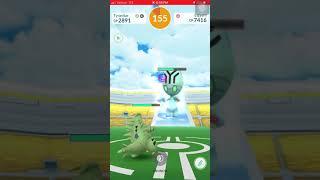 Pokemon Go - Tier 2 Elgyem Raid solo w/ lv 35