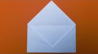 Easy Origami Envelope Tutorial 💌 DIY 💌 Paper Kawaii