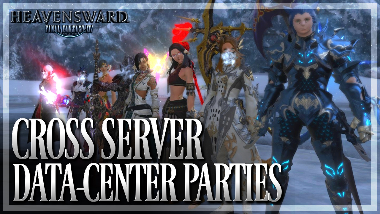 FFXIV - Cross-Server Data Center Party Finder Guide (FFXIV 3 5 | 1080p | PC)
