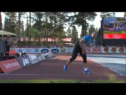 Elite Competition Lapinlahti, Finland 20.7.2014 Men´s Javelin Throw