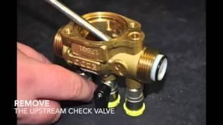 Brandoni valves: ECO3T DN 15 maintenance bleed valve and check valve